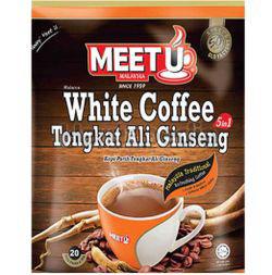 Meet U Kopi Putih Tongkat Ali Ginseng 20x30gm