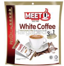Meet U Premium Gold White Coffee 3 in 1 10x20gm