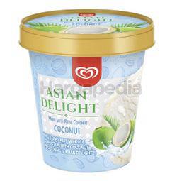Wall's Asian Delight Coconut Ice Cream 705ml