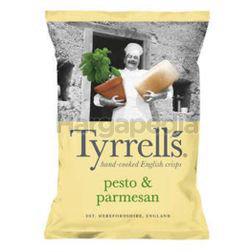 Tyrrell's Pesto & Parmesan Potato Chips 150gm