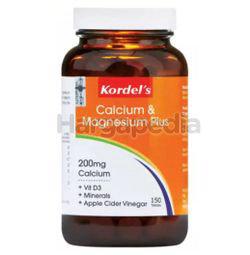 Kordel's Calcium & Magnesium Plus 150s