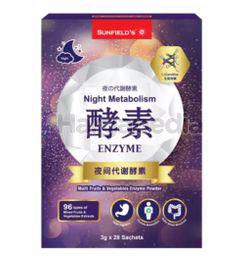 Sunfield's Night Metabolism 28x3gm