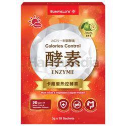 Sunfield's Enzyme Calories Control  28x3gm