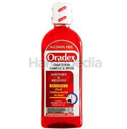 Oradex Dual Action Mouthwash 400ml