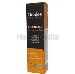 Oradex Charcoal Cinnamon Whitening Toothpaste 120gm