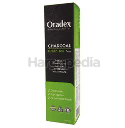 Oradex Charcoal Green Tea Whitening Toothpaste 120gm