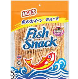 Ika's Fish Snack BBQ 120gm