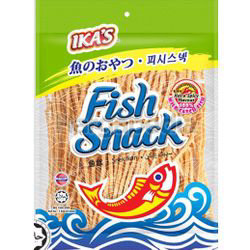 Ika's Fish Snack Hot & Spicy 120gm