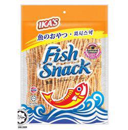 Ika's Fish Snack BBQ 50gm