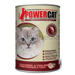 Power Cat Cat Food Fresh Sardine & Tuna 400gm