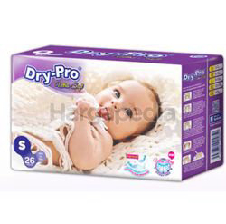 Dry-Pro Ultra Soft Baby Tape Diapers S26