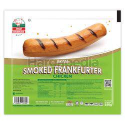 Ayam Dindings Smoked Chicken Frankfurter 250gm