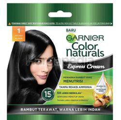 Garnier Color Naturals Express Hair Color 1 Hitam Alam 1s