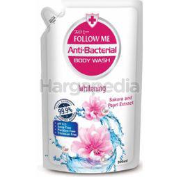 Follow Me Antibacterial Body Wash Whitening Refill 900ml