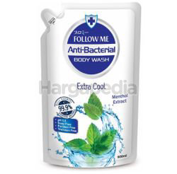 Follow Me Antibacterial Body Wash Extra Cool Refill 900ml
