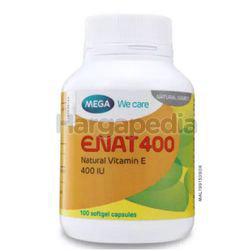 Mega E NAT 400IU 100s