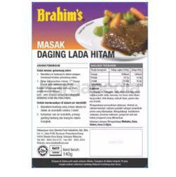 Brahim's Daging Masak Lada Hitam 140gm