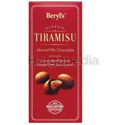 Beryl's Tiramisu Almond Milk Chocolate 200gm