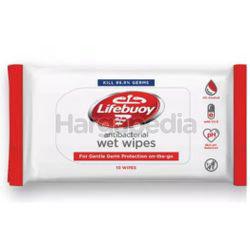 Lifebuoy Antibacterial Wet Wipes 10s