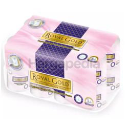 Royal Gold Elegant Toilet Roll Scented Single Wrap 16s