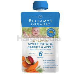 Bellamy's Organic Sweet Potato Carrot & Apple 120gm