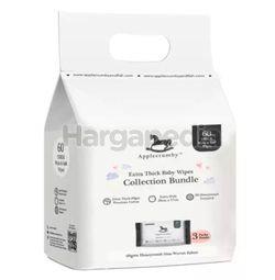 Applecrumby Extra Thick Premium Baby Wipes 3x20s