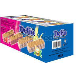 Delio Wafer With Milk Cream 24x16gm