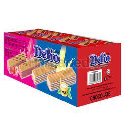 Delio Wafer With Chocolate Cream 24x16gm
