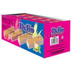 Delio Wafer With Strawberry Cream 24x16gm