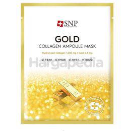 SNP Gold Collagen Ampoule Mask 10s