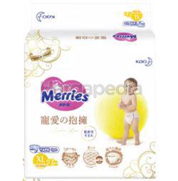 Merries Tender Love Tape Baby Diapers XL27