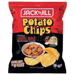 Jack N Jill Potato Chips Prawn Sambal 60gm