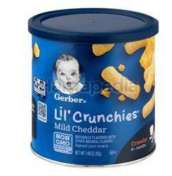Gerber Lil Crunchies Mild Cheddar 45gm