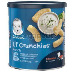 Gerber Lil Crunchies Ranch 45gm