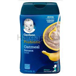 Gerber Baby Probiotic Oat & Banana Cereal 227gm