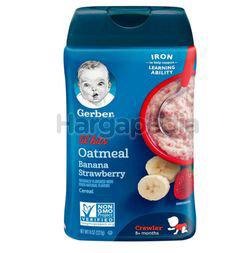 Gerber Baby Oatmeal Banana Strawberry Cereal 227gm