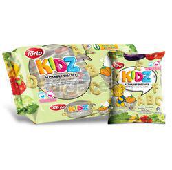 Torto Kidz Alphabet Biscuits 120gm