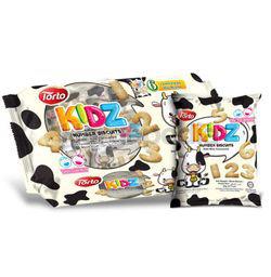 Torto Kidz Number Biscuits 120gm