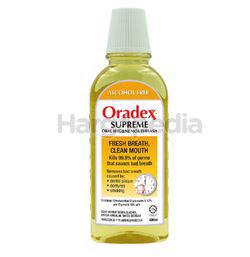 Oradex Supreme Mouthwash 400ml