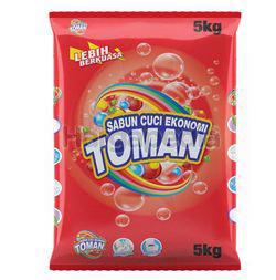 Toman Detergent Powder Regular 5kg