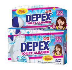 Depex Blue Toilet Bowl Cleaner 2x50gm