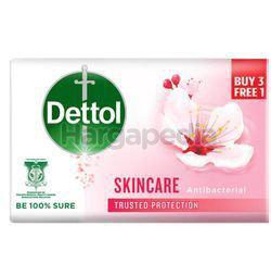 Dettol Bar Soap Skincare (3+1)x100gm
