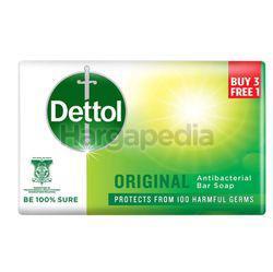 Dettol Bar Soap Original (3+1)x100gm