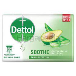 Dettol Bar Soap Sooth (3+1)x100gm