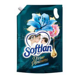 Softlan Fabric Softener Divine Pleasure Aqua Lilies & Sweet Peonies Refill 1.3lit