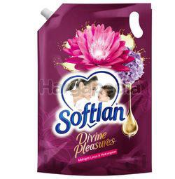 Softlan Fabric Softener Divine Pleasure Midnight Lotus & Hydrangeas Refill 1.3lit