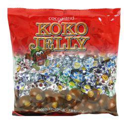 Koko Jelly Chocolate Ball Peanut 380gm