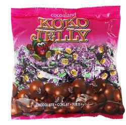 Koko Jelly Chocolate Ball Raisin 380gm