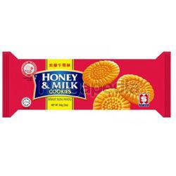 Hup Seng Ping Pong Honey & Milk Cookies 84gm