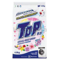 Top Detergent Powder Super Low Suds Blooming Garden 4.8kg